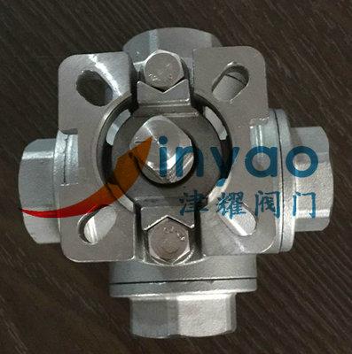 内螺纹四通球阀q16f结构说明-上海津耀阀门有限公司